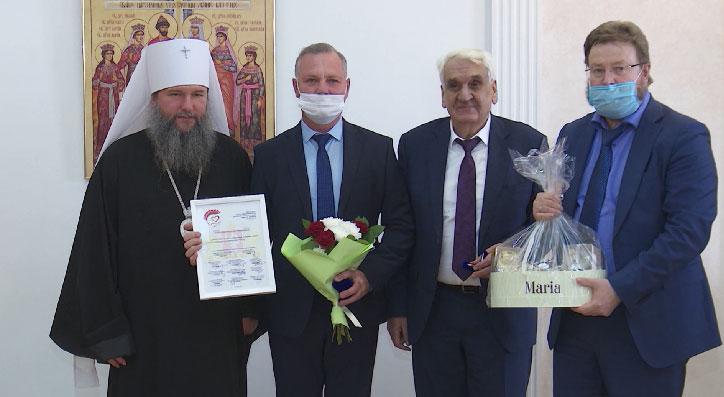 В Екатеринбурге наградили лауреатов проекта «Спасибо»