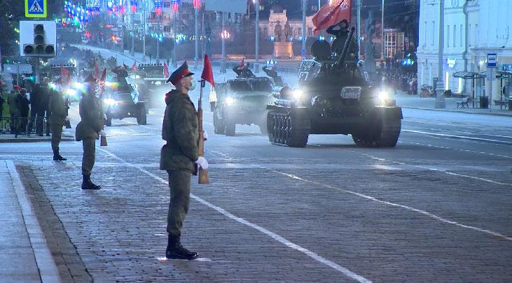 Подготовка к Параду Победы продолжается в Свердловской области