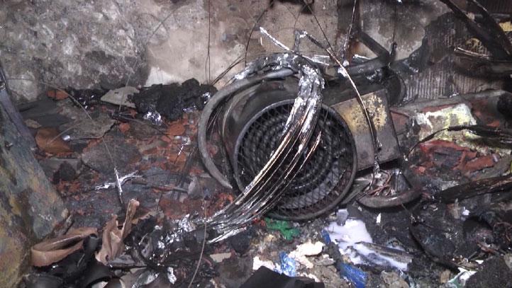 Утром в Екатеринбурге загорелся детский центр