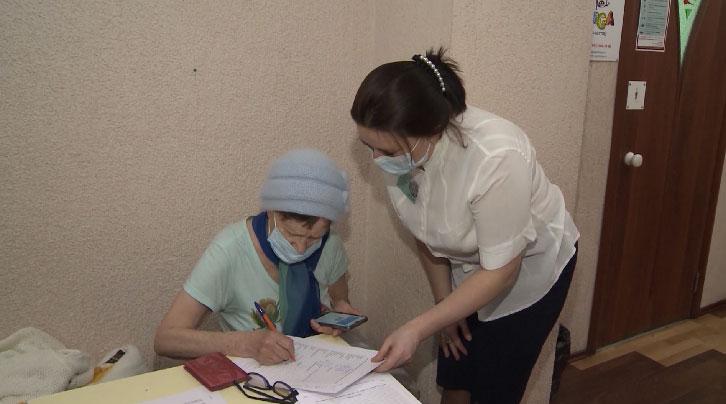 В Екатеринбурге прошла выездная вакцинация ветеранов от COVID-19