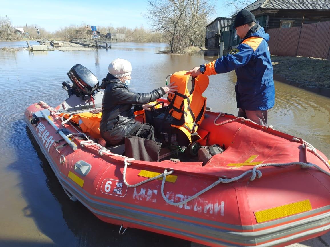 На Урале спасатели готовятся к паводку
