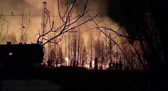 На Урале с начала мая резко возросло число пожаров