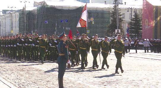 В Екатеринбурге состоялась генеральная репетиция Парада Победы