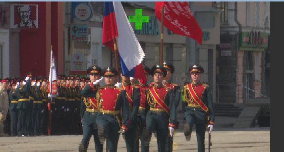 Парад Победы в Екатеринбурге стал по-настоящему ярким и торжественным