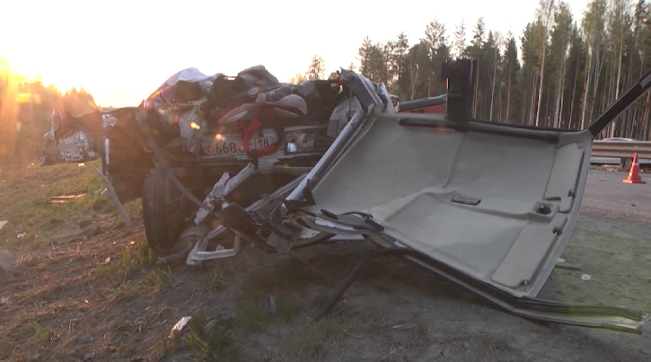 На ЕКАДе в автокатастрофе  погибли четыре человека