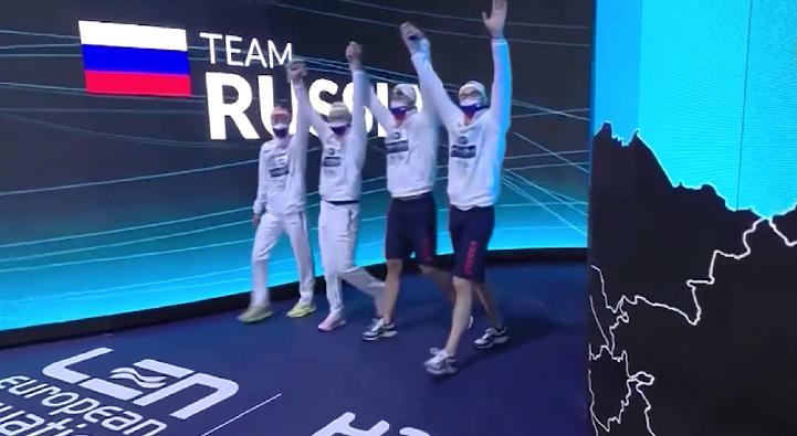 Сборная России стартовала с двух рекордов на ЧЕ по плаванию