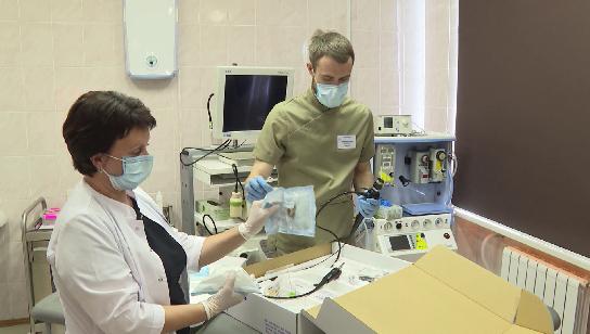 Уникальное оборудование получили врачи ОДКБ №1