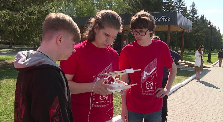 В парке Маяковского проходит форум для школьников по геоинформатике