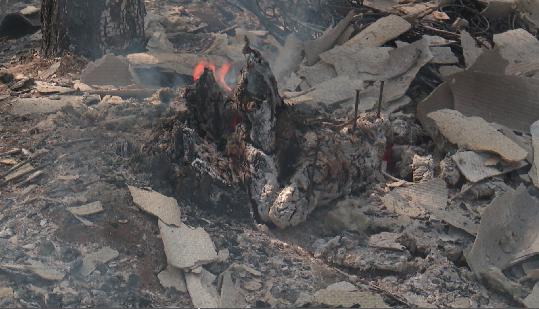 В Свердловской области горят сотни гектаров леса