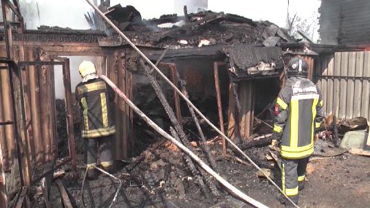 В СНТ «Визовец-5» в пожаре погибли два человека