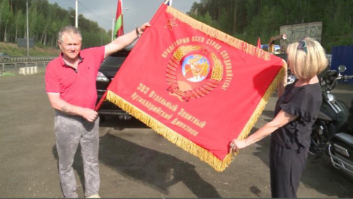 В Екатеринбург прибыли участники автопробега «Брест-Иркутск-Брест»
