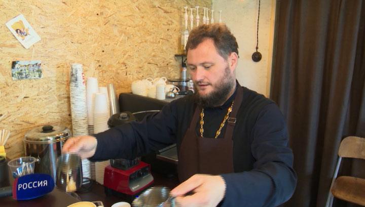 Уральский священник открыл кофейню рядом с храмом