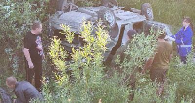 Семья серьезно пострадала аварии на Полевском тракте