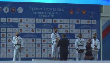 Свердловская дзюдоистка Дарья Кашина победила на первенстве России