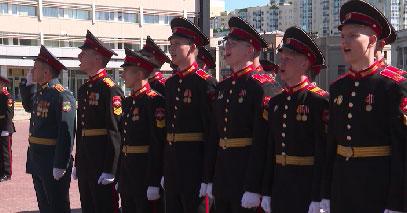 «Золотой» выпуск кадетов состоялся в суворовском училище