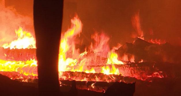 Пожар в Косулино: ночью дома покинули сотни людей