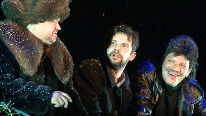 В Екатеринбурге представили премьеру  «Петровы в гриппе»