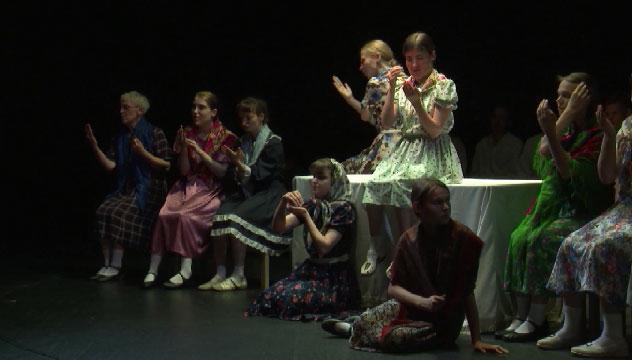 Премьера необычного спектакля прошла в Екатеринбурге