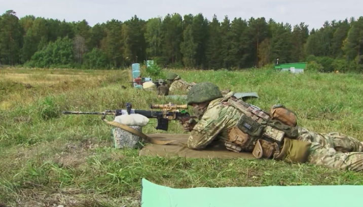 Снайперы ЦВО провели учения на полигоне под Екатеринбургом