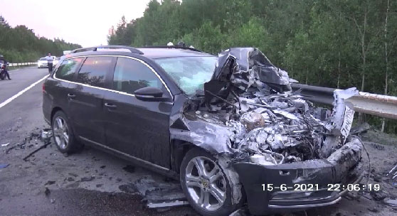 Один человек погиб в аварии на трассе «Екатеринбург-Тюмень»
