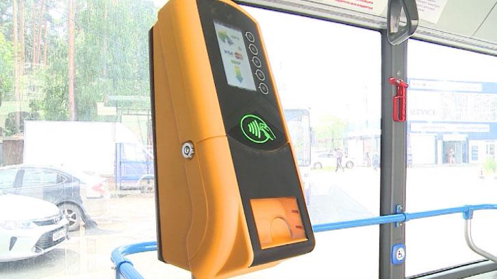 Для бесконтактной оплаты проезда в автобусах устанавливают валидаторы