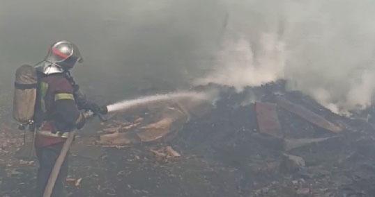 В Свердловской области продолжают полыхать пожары