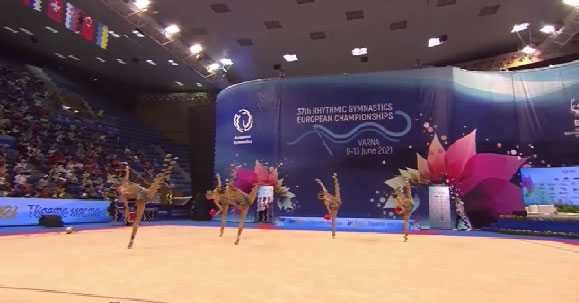 Гимнастка Анастасия Татарева – абсолютная чемпионка Европы