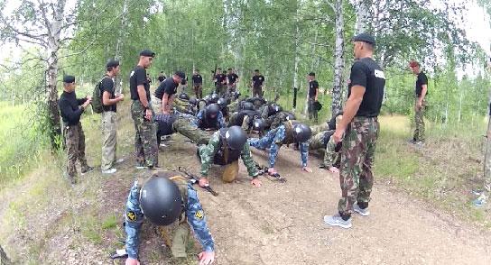 Испытания на право ношения «чёрного берета» прошли сотрудники спецназа