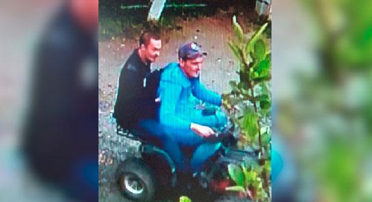 Подозреваемых в угоне квадроцикла разыскивают полицейские