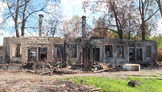 Благотворители оказали помощь жительнице сгоревшей квартиры