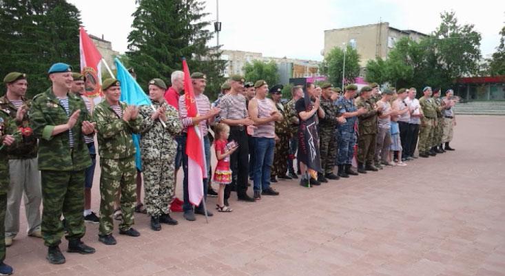 В России отметили День ветеранов боевых действий