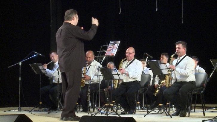 В джазовой аранжировке прозвучали песни Евгения Родыгина