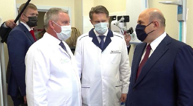 Мишустин: в России открыли более 5800 пунктов вакцинации от COVID-19