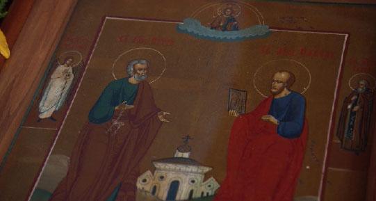 Православные христиане отметили праздник первоверховных апостолов Петра и Павла