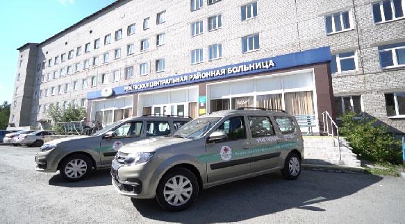 Больницы в Ивдельском и Режевском районах получили новые машины скорой помощи