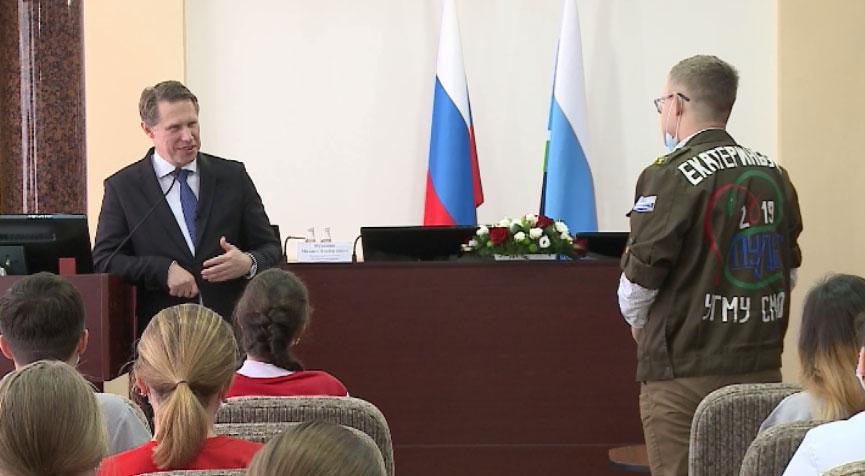 Лекцию для студентов-медиков провёл министр здравоохранения РФ