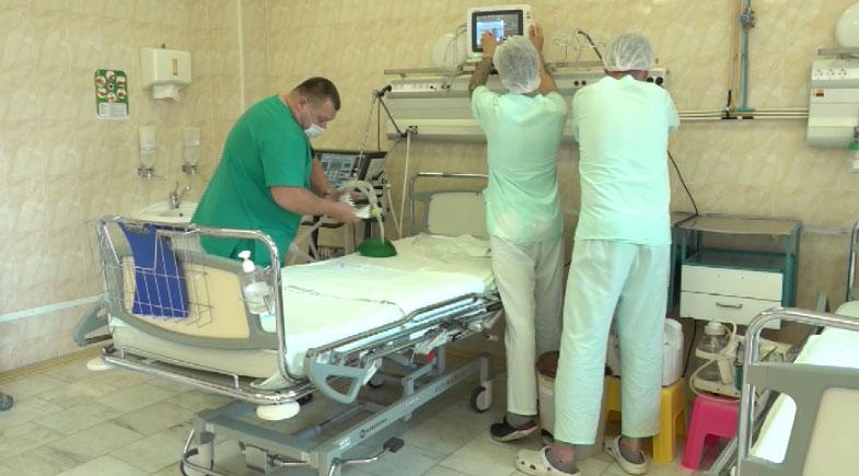 В области перепрофилируют отделения больниц для ковидных больных