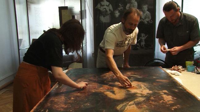 В Нижнем Тагиле завершена реставрация нескольких картин