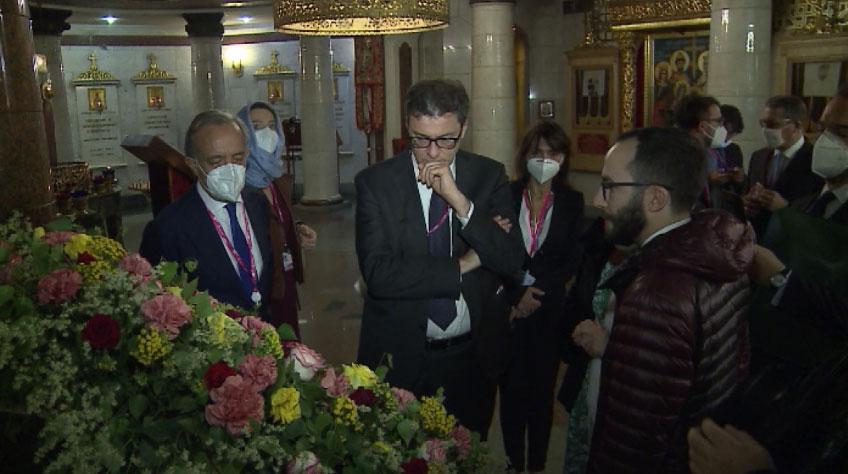 С духовным наследием России знакомят итальянских гостей
