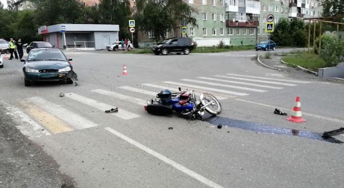 Два человека пострадали в результате ДТП в Верхней Салде