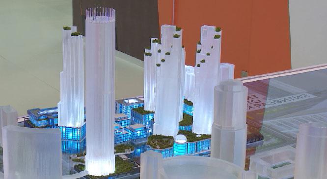 Квартал небоскрёбов появится в Екатеринбурге