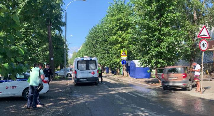 В Екатеринбурге в результате ДТП пострадал ребёнок