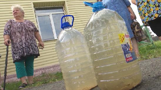 В деревне Гаёва несколько сотен семей неделю живут без воды
