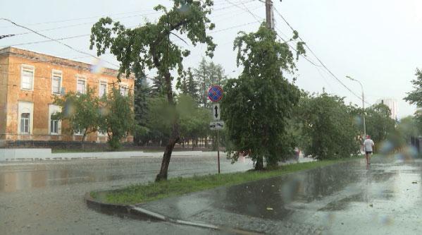 В Свердловской области ожидается сильный ветер и дождь