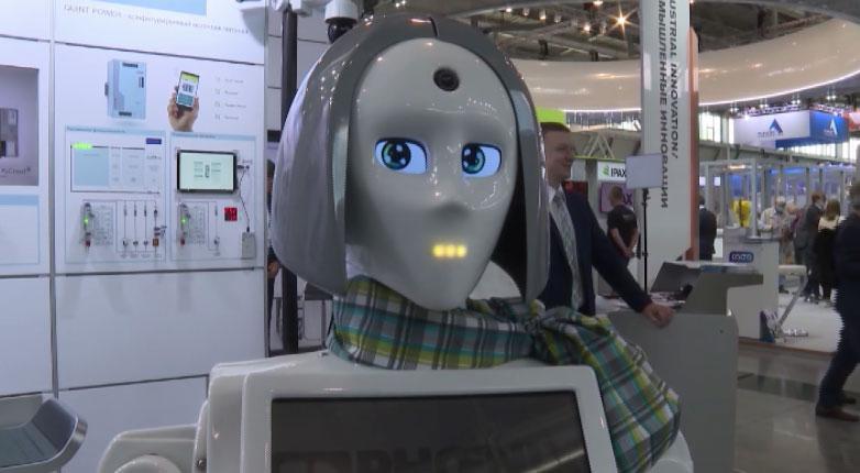 Самые передовые разработки демонстрируют на выставке «Иннопром»