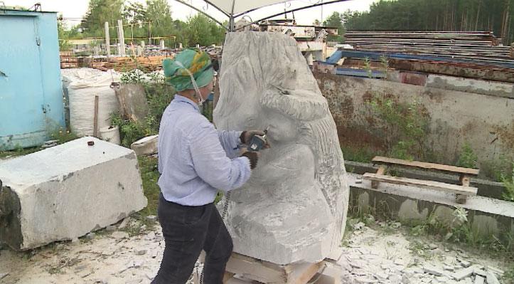 «Мраморная миля»: именитые художники создают скульптуры из мрамора