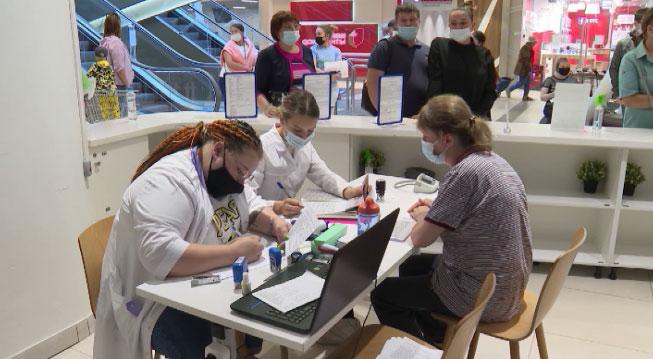 В Свердловской области продолжается активная вакцинация