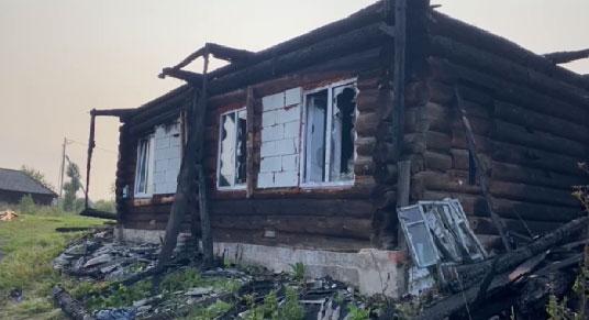 В селе Чатлык подросток спас из пожара семерых детей