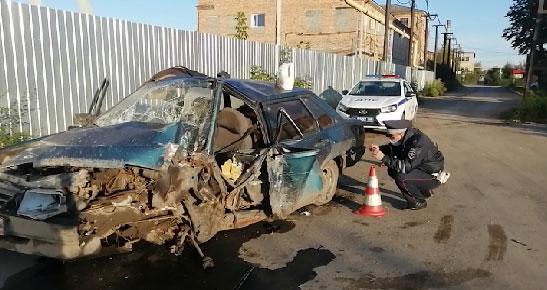 В результате ДТП в Ирбите пострадал ребёнок
