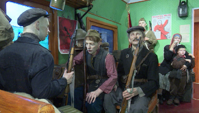 На вокзал Екатеринбурга прибыл эшелон-музей